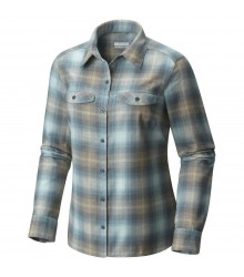 Columbia Silver Ridge Long Sleeve Flannel túraing D