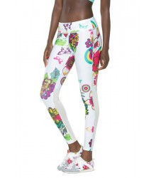 Desigual Legging FR Long Tight T futónadrág - sportnadrág D