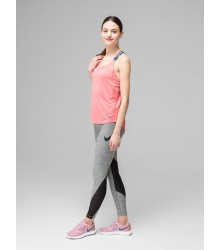 Nike W Np Tght Heather fitness nadrág